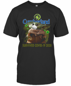 Cute Baby Yoda Cumberland Farms Survived Covid 19 2020 T-Shirt Classic Men's T-shirt