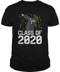 Dabbing Graduate Class Of 2020 Funny Social Distancing  Unisex