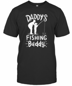 Daddy's Fishing Buddy T-Shirt Classic Men's T-shirt