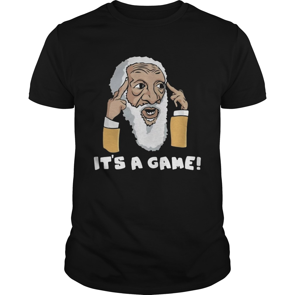 Dick Gregory Its A Game Unisex
