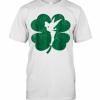 Disney Tinker Bell Green Shamrock St. Patrick'S Day T-Shirt Classic Men's T-shirt