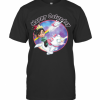 Disney Wreck It Ralph Vanellope Rainbow Galaxy Caturday T-Shirt Classic Men's T-shirt
