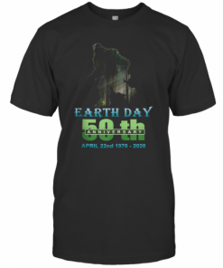 Earth Day 50Th Anniversary Bigfoot Silhouette Bigfoot T-Shirt Classic Men's T-shirt