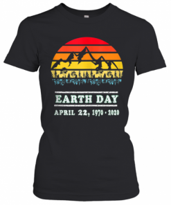 Earth Day April 22, 19702020 Vintage 50Th Earth Day T-Shirt Classic Women's T-shirt