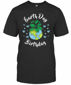 Earth Day Birthday T-Shirt Classic Men's T-shirt