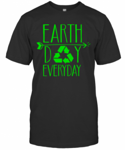 Earth Day Everyday 50Th Anniversary Cute Recycling Teacher T-Shirt Classic Men's T-shirt