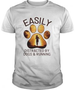 Easily Distracted By Dogs And Running  Unisex