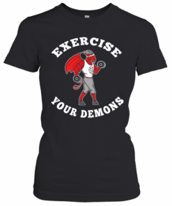Exercise Your Demons Satanic Baphomet Satan Occult T-Shirt Classic Women's T-shirt