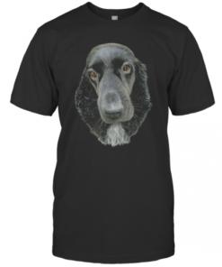 Fancy Cocker Spaniel Dog Drawing T-Shirt Classic Men's T-shirt