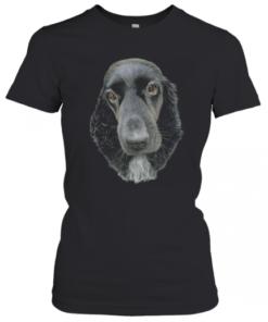 Fancy Cocker Spaniel Dog Drawing T-Shirt Classic Women's T-shirt