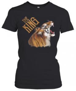 Fantastic Tiger Wild King Exotic Powerful Animal Vintage Art T-Shirt Classic Women's T-shirt