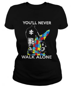 Father youll never walk alone autism  Classic Ladies