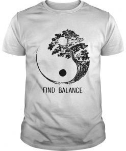 Find Balance Yin Yang Bonsai Tree Japanese  Unisex