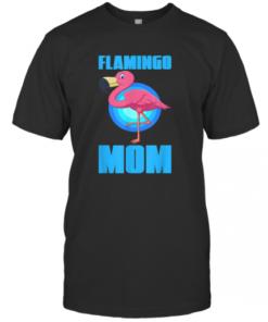 Flamingo Mum Zoo Keeper Animal Bird Owner Pet Mom T-Shirt Classic Men's T-shirt