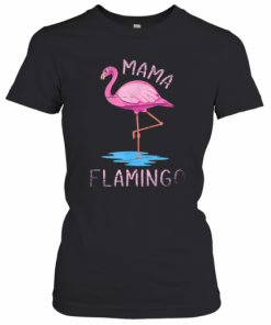 Flamingo Pet Mom T-Shirt Classic Women's T-shirt