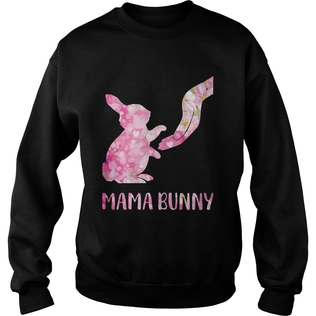 Floral Mama Bunny Sweatshirt