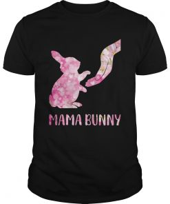 Floral Mama Bunny  Unisex