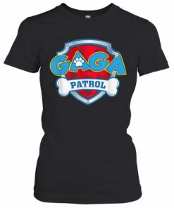 Funny Gaga Patrol Dog T-Shirt Classic Women's T-shirt