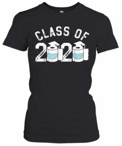 Funny Graduation Toilet Paper Outta TP Class Of 2020 T-Shirt Classic Women's T-shirt