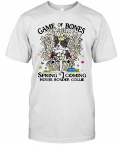 Game Of Bones Spring Is Coming House Border Collie T-Shirt Classic Men's T-shirt