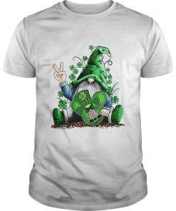 Gnome hug Mickey clover Irish St Patricks day  Unisex