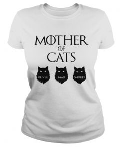 Good Mother Of Cats GOT Oliver Max Smokey  Classic Ladies