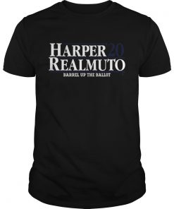 Harper Realmuto Barrel Up The Ballot 20  Unisex