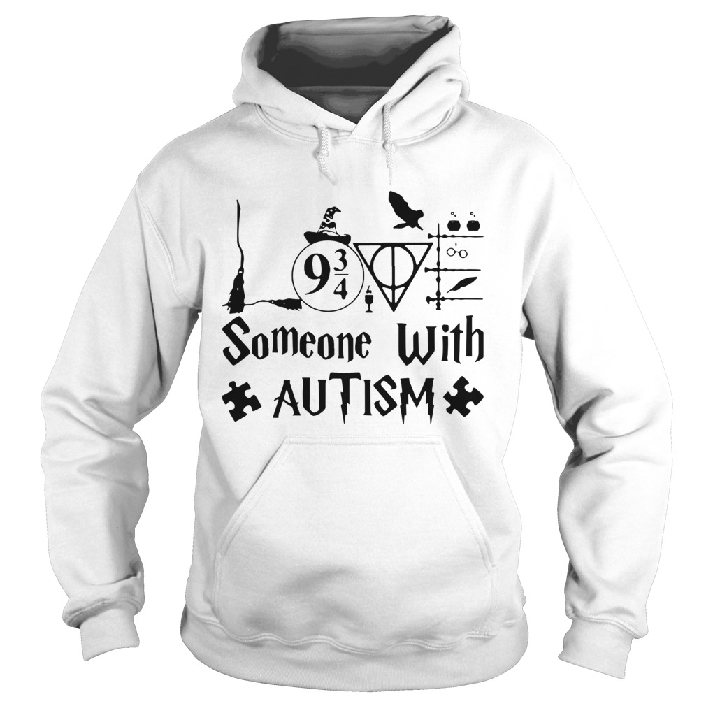 Harry Potter Someone With Autism Hoodie