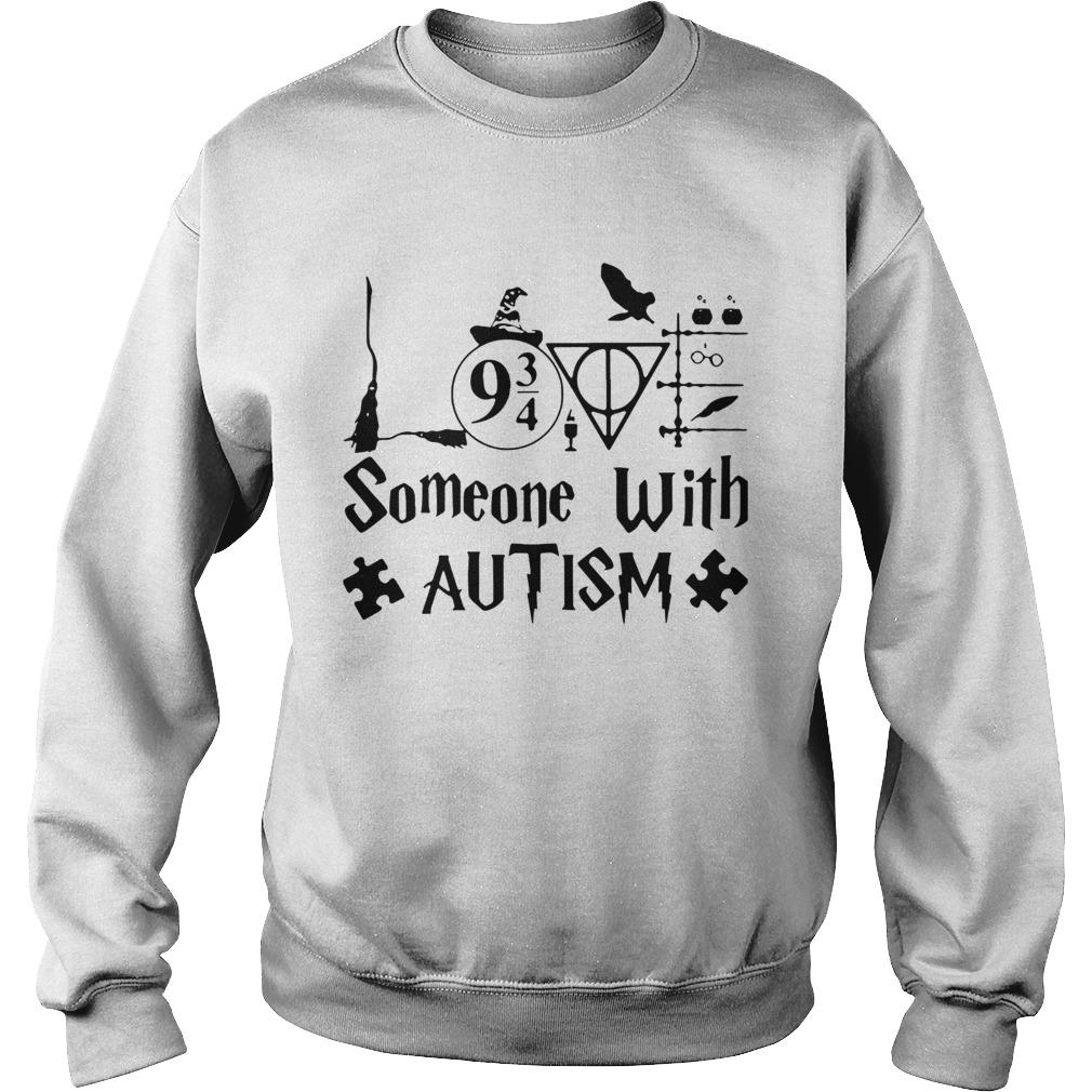 Harry Potter Someone With Autism Sweatshirt