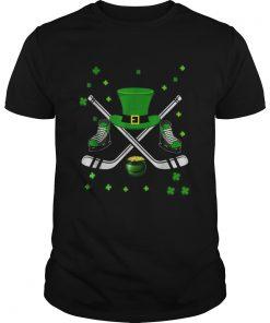 Hockey Hat Leprechaun St Patricks Day Boys Men Catcher  Unisex