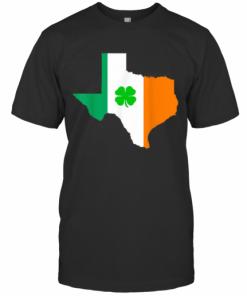 Irish Flag Texas State St Patrick'S Day T-Shirt Classic Men's T-shirt