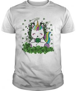 Irish Unicorn Ireland Shamrock St Patricks  Unisex
