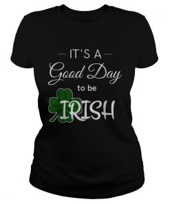 Its a good day to be Irish weis Unisex Jersey  Classic Ladies