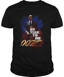 Jame Bond No Time To Die 007  Unisex
