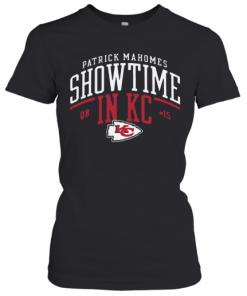 Kansas City Chiefs Patrick Mahomes Showtime In KC T-Shirt Classic Women's T-shirt
