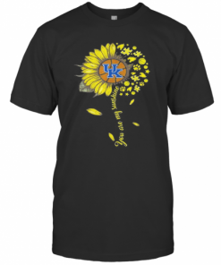 Kentucky Wildcats Baseball You Are My Sunshine Sunflower T-Shirt Classic Men's T-shirt