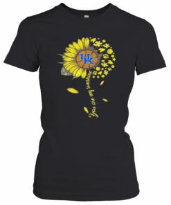 Kentucky Wildcats Baseball You Are My Sunshine Sunflower T-Shirt Classic Women's T-shirt