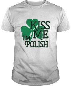 Kiss Me Im Polish  Unisex