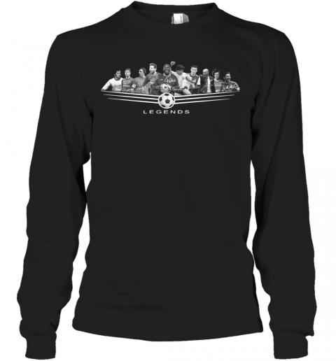 Legends Football Jeep Pele League 2020 Signature T-Shirt Long Sleeved T-shirt