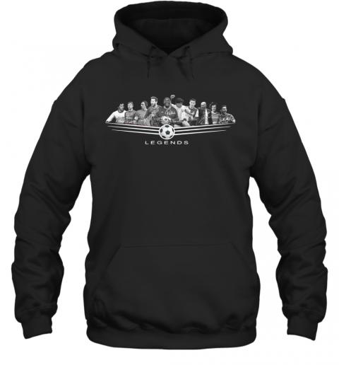 Legends Football Jeep Pele League 2020 Signature T-Shirt Unisex Hoodie