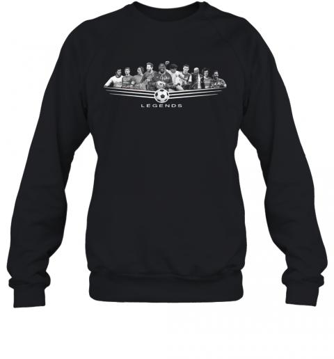 Legends Football Jeep Pele League 2020 Signature T-Shirt Unisex Sweatshirt