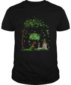 Leprechaun Cavalier King Charles Spaniel Tree Patricks Day  Unisex