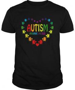 Love Autism Awareness heart  Unisex