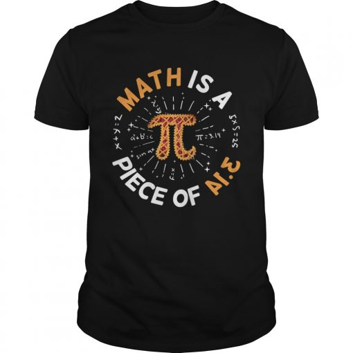 Math Is A Piece Of Cake Apple Pi Happy Pi Day  Unisex