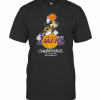 Mickey Mouse Los Angeles Lakers Champions 2020 T-Shirt Classic Men's T-shirt