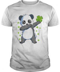 Nice Dabbing Panda St Patricks Day  Unisex