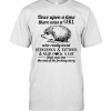 Once Upon A Time There Was A Girl Who Really Loved Hedgehogs And Tattoos And Said Fuck A Lot T-Shirt Classic Men's T-shirt