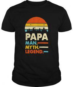 Papa man myth legend vintage  Unisex
