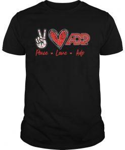 Peace Love ADP  Unisex