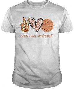 Peace Love Basketball  Unisex
